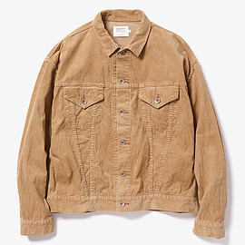 vendor Things - CORD WORK JACKET ONE WASH