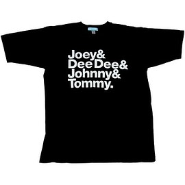 Joey & Dee Dee & Tommy & Johnny T-shirt