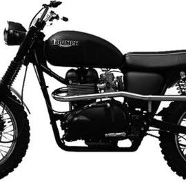 British Customs Sonny Nutter Triumph.