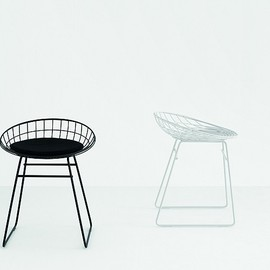 pastoe / パストー - Pastoe Chairs: Wire Collection - KM series - pastoe wire stool KM05 . Design: cees braakman - 1958