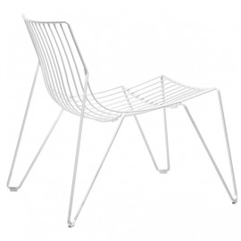 Massproductions - Tio easy chair, white
