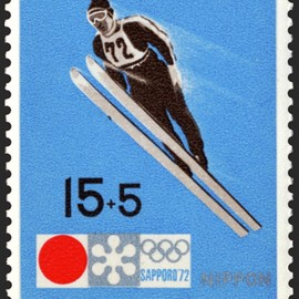 Sapporo Winter Olympic Games - 記念切手