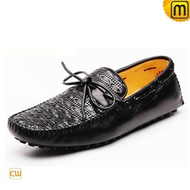 cwmalls - Mens Driving Mocs Black CW740002