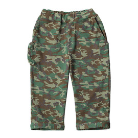 LOOPWHEELER - LW Light Camouflage cycle pants