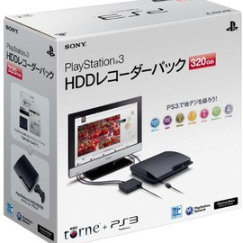 Sony Computer Entertainment Inc. - PlayStation®3 HDDレコーダーパック 320GB チャコール・ブラック