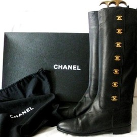 CHANEL - Riding Boots