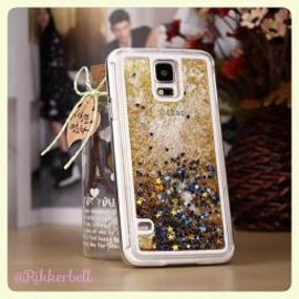 plamode - Glitter Star Galaxy case Gold