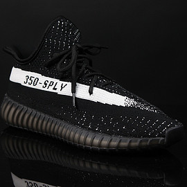 adidas - Yeezy Boost 350 SPLY - Black/White