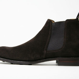 Alfred Sargent - PINNER SUEDE CHELSEA BOOT