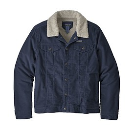 patagonia - M's Pile Lined Trucker Jacket, New Navy (NENA)