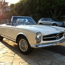 Mercedes-Benz - 1965 Mercedes-Benz 230SL ELECTRIC CAR
