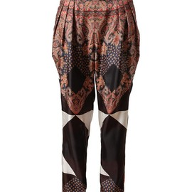 GIVENCHY - paisley trousers