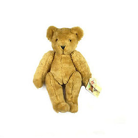 """VINTAGE - Vintage 1991 16"""" Fully jointed Vermont Teddy Bear 16"""" Made in USA Original Tag"""