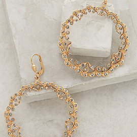 anthropologie - Filigree Garland Hoops