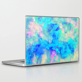 "Society6 - Electrify Ice Blue - Laptop & iPad Skin(13"" MACBOOK / PRO / AIR)"