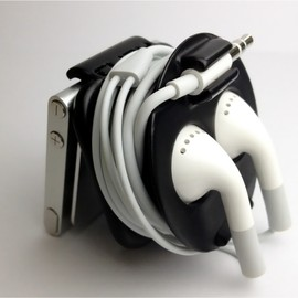 AWS JAN - CLIPY - earbud holder for iPod nano