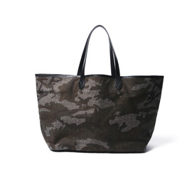 SOPHNET. - CAMOUFLAGE COTTON HOMESPAN TOTE BAG