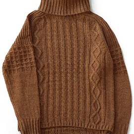 bal - Duck Tale Allan Turtleneck Sweater (terracotta)