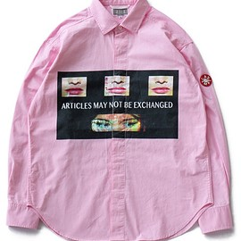 C.E - Policy Shirt (pink)
