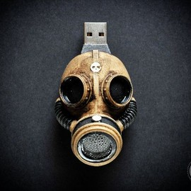 Goth Chic - Steampunk  flash drive  Hand made 32 Gb GAS by GothChicAccessories, $119.00