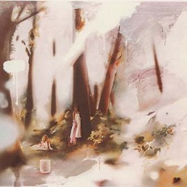 Richard Hamilton - Soft pink landscape (1980, 52.5×70, signed136)