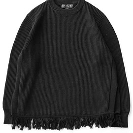 bal - Fringe Sweater (black)