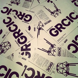 'chairs by grcic' leaflet