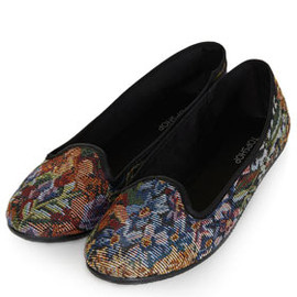 TOPSHOP - TRUDI Tapestry Slippers