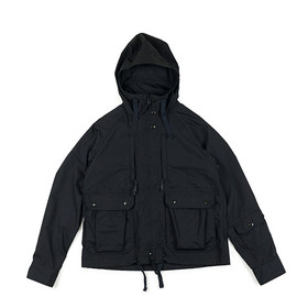 ENGINEERED GARMENTS - Short Parka-PC Poplin-Black