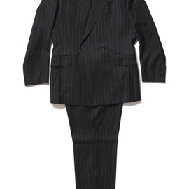 Kensei - Ordermade Stripe Double-Breasted Wool Suit