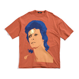 UNDERCOVER - UCW1892-4 BIGTEE BOWIE FACE【DAVID BOWIE】