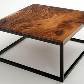 Woodland Creek - Rustic Contemporary Coffee Table