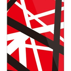 SECOND SKIN - ロックオマージュ レッド (クリア) / for iPhone 5s/docomo