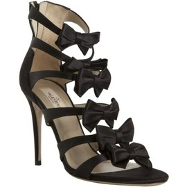 VALENTINO - Satin bow sandals