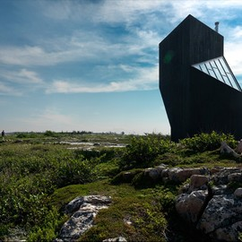 Todd Saunders - Tower Studios for the Shorefast Foundation, Fogo Island, Canada