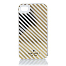 kate spade NEW YORK - RESIN IPHONE CASE DIAGONAL STRIPE 4