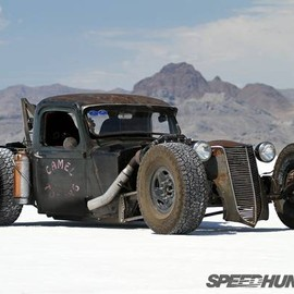 1936 Plymouth rat rod toe truck - 1936 Plymouth rat rod toe truck