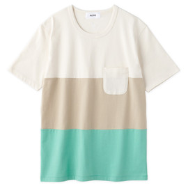 Aloye - Tricolore #2 / Short-sleeve Pocket T-Shirt