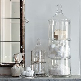 west elm - Stacked Apothecary Jars