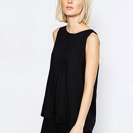 Weekday - Blouse With Cross Over Back Detail