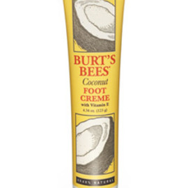 BURT'S BEES - Go nuts for incredibly soft feet.