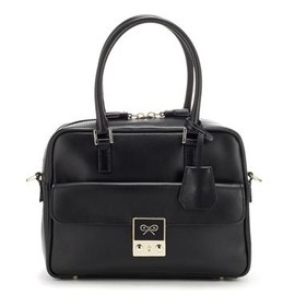 ANYA HINDMARCH - Small Carker - Black