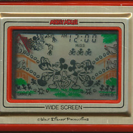 "NINTENDO - GAME & WATCH ""MICKY MOUSE"""