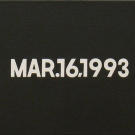 On Kawara - MAR. 16, 1973