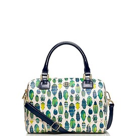 TORY BURCH - robinson PRINTED MIDDY SATCHEL