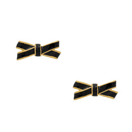 kate spade NEW YORK - double bow studs