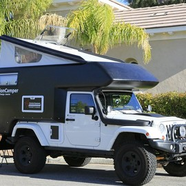Jeep - JKU expedition ready slide-in camper