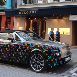 Rolls-Royce, Louis Vuitton - Phantom Drophead Coupé