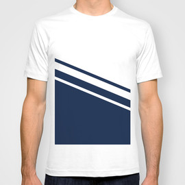 Society6 - Navy Line T-shirt