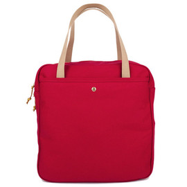 archival clothing - Zip Tote - Carmine Red
